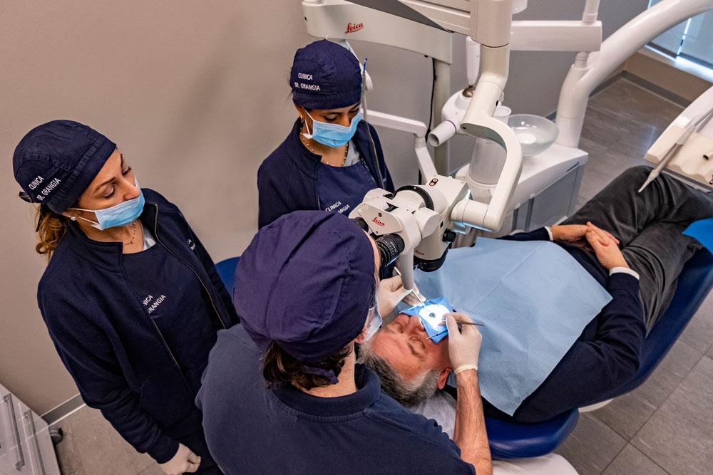 Conservativa Endodonzia al microscopio   Clinica Grangia